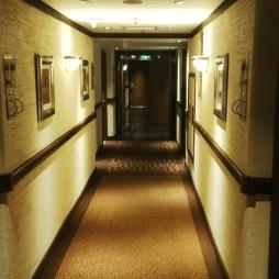 Hotel Lobby at the Intercontinental Hotel, nairobi