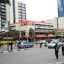 Nairobi street view.