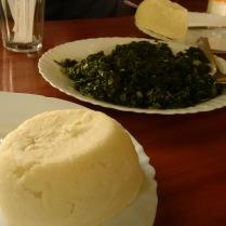 Ugali With Nyamachoma
