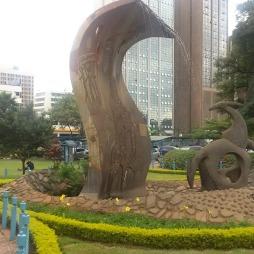 Sculpture at the University Of Nairobi