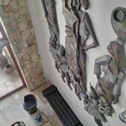 Super-sized art installation